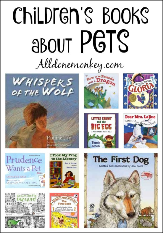 Children's Books about Pets | Alldonemonkey.com