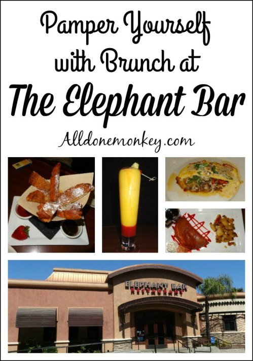 Pamper Yourself with Brunch at the Elephant Bar | Alldonemonkry.com