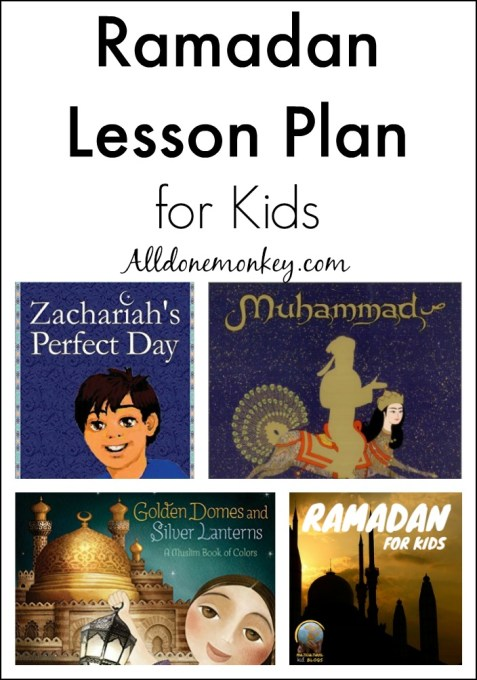 Ramadan Lesson Plan for Kids | Alldonemonkey.com