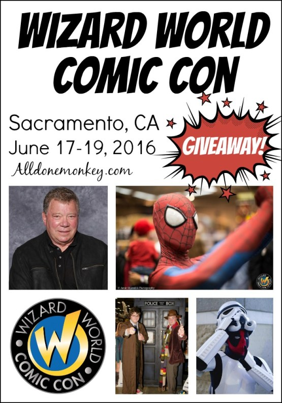 Wizard World Comic Con comes to Sacramento - with a giveaway!