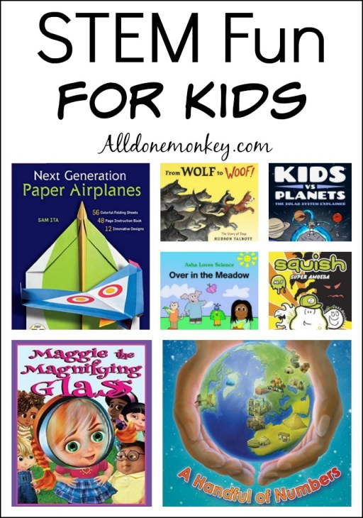 STEM Fun for Kids | Alldonemonkey.com