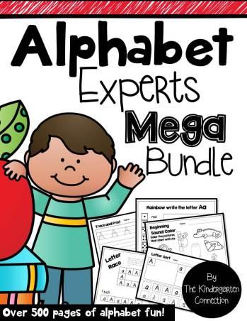 Alphabet Experts Mega Bundle: 31 Days of ABC Giveaway