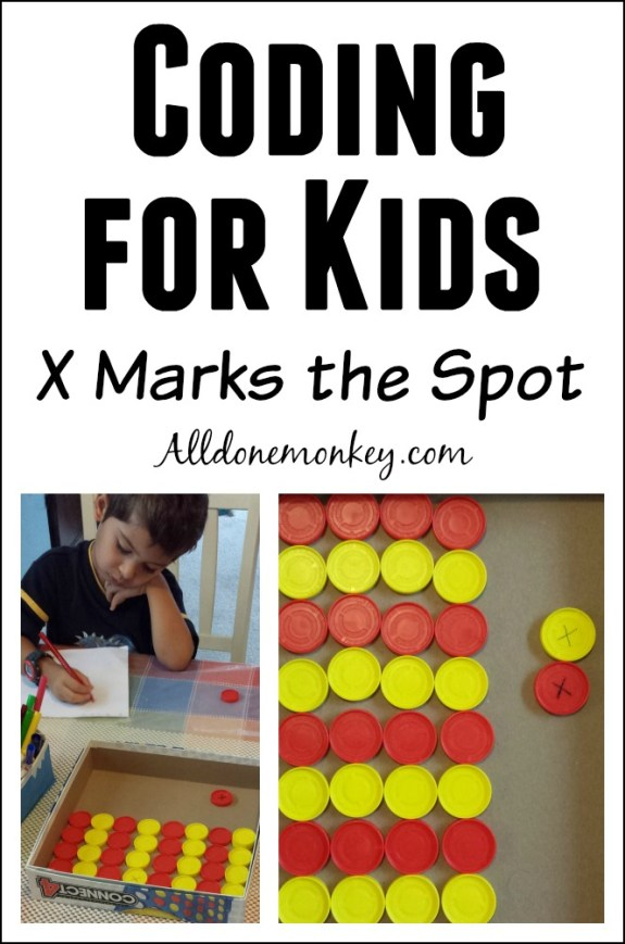 Coding for Kids: X Marks the Spot | Alldonemonkey.com