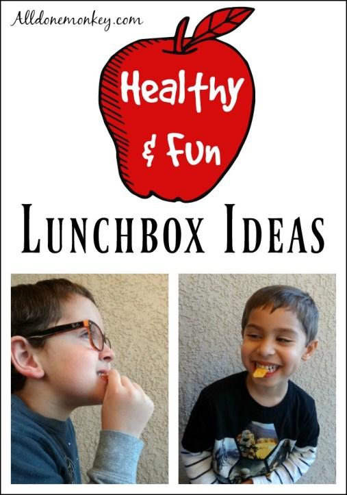 Healthy & Fun Lunchbox Ideas | Alldonemonkey.com