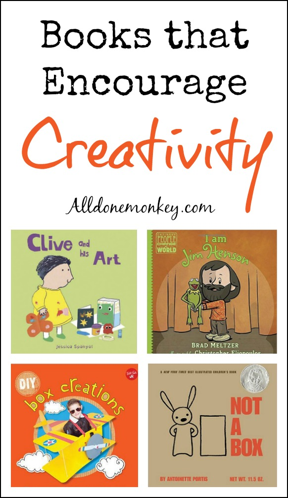 Our favorite books that encourage creativity