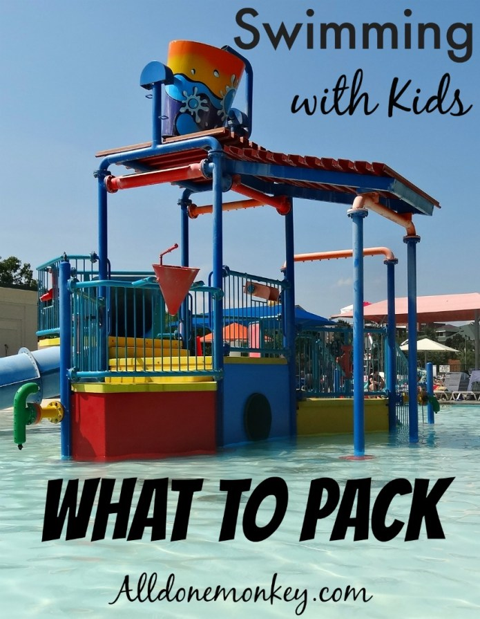 Swimming with Kids: What to Pack | Alldonemonkey.com