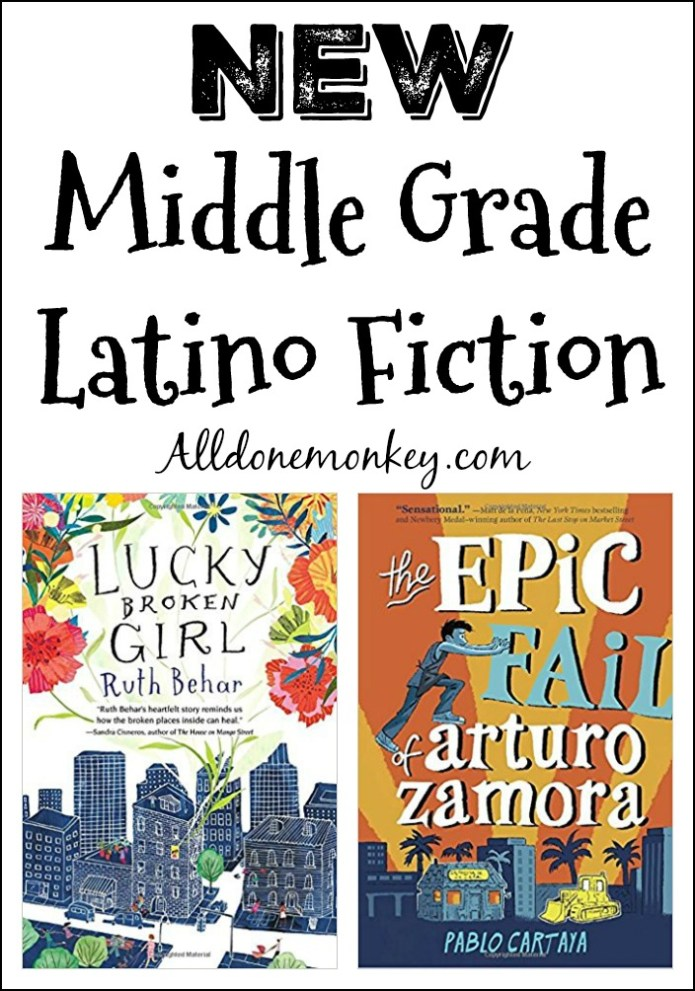 New Middle Grade Latino Fiction   Alldonemonkey.com