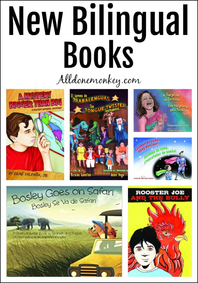 New Bilingual Books for Kids of All Ages | Alldonemonkey.com