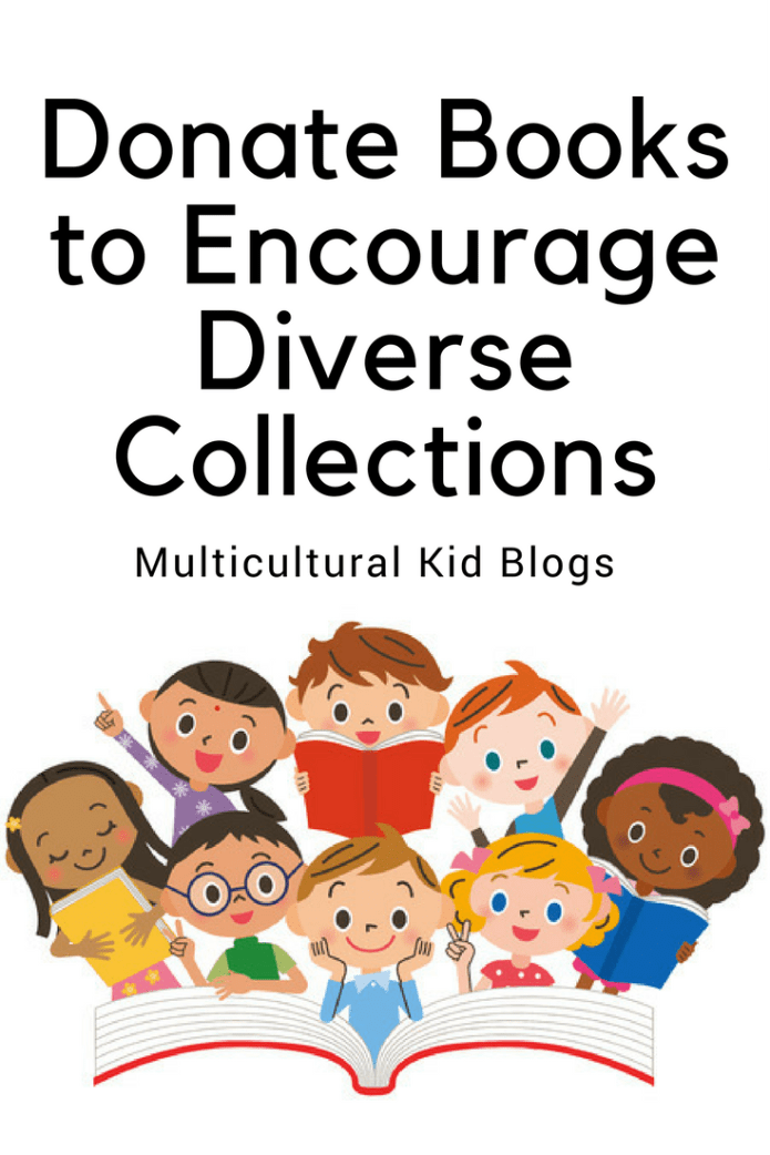 Donate books to help make diverse literature more widely available