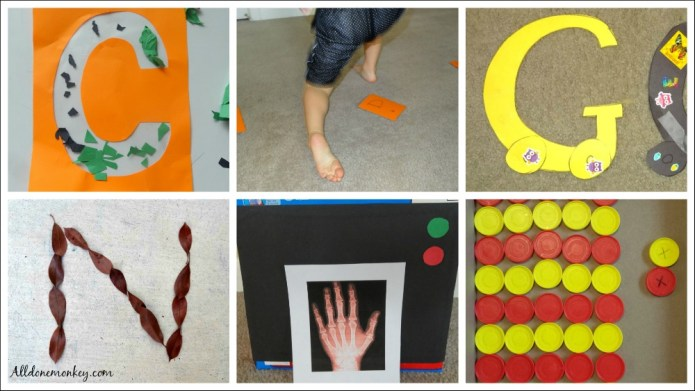 Favorite Letter Crafts and Activities for Preschool | Alldonemonkey.com
