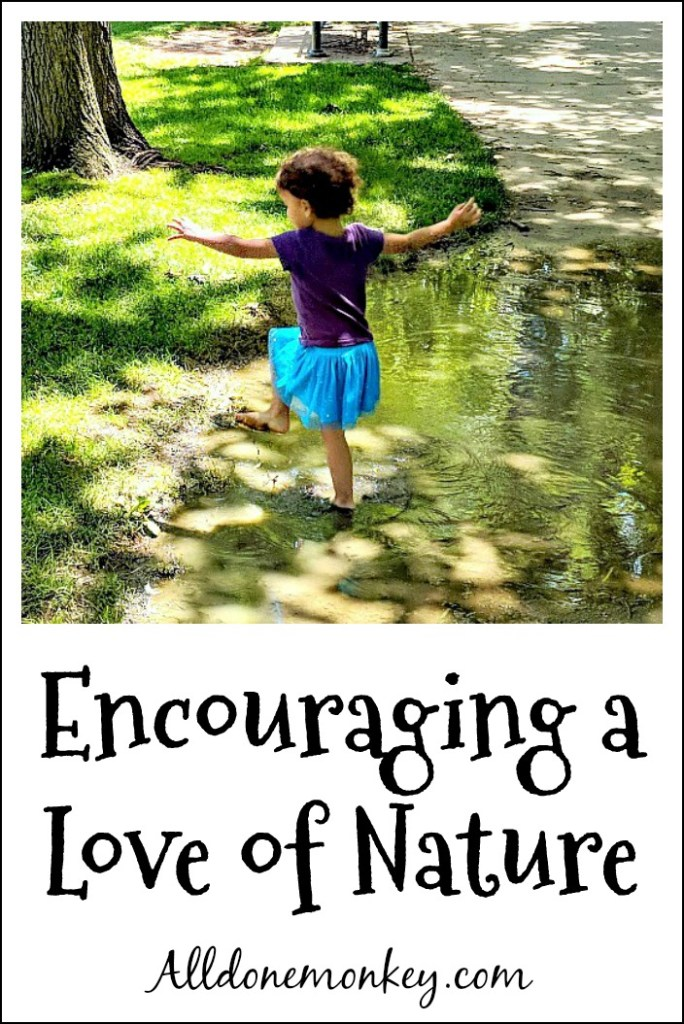 Encouraging a Love of Nature: New Resources | Alldonemonkey.com