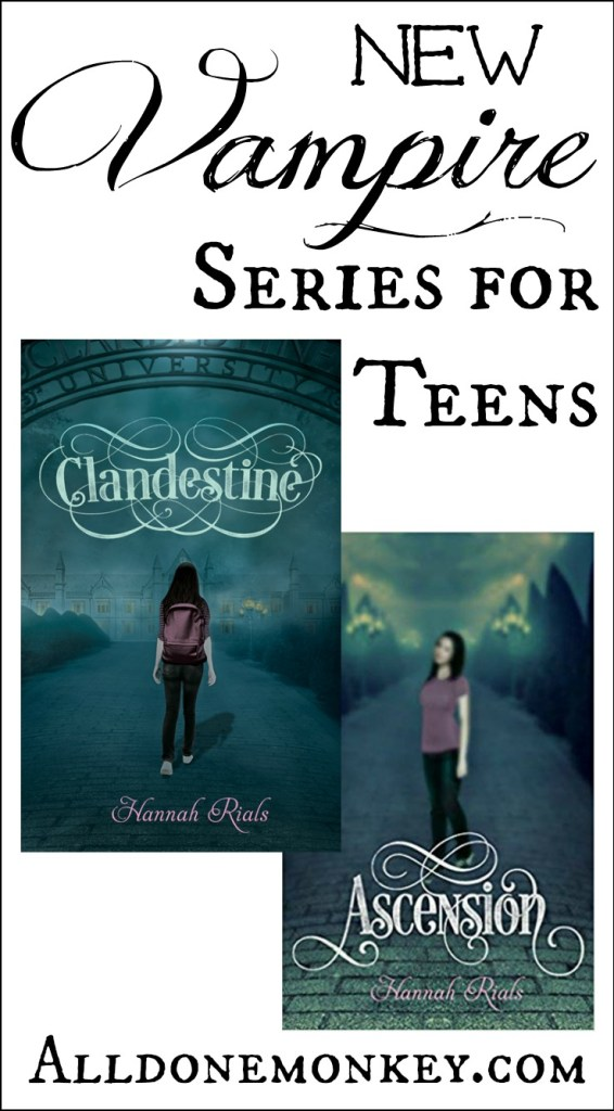 New Vampire Series for Teens | Alldonemonkey.com