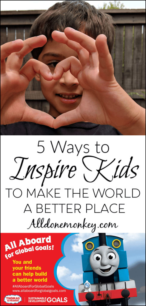 5 Ways to Inspire Kids to Make the World a Better Place | Alldonemonkey.com