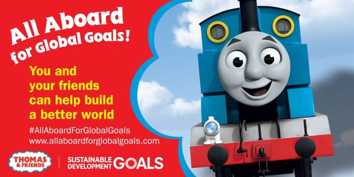 All Aboard for Global Goals!