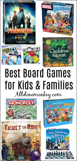 Best Board Games for Kids and Families