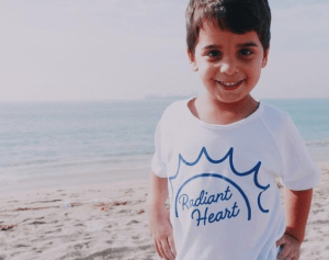 Kids Radiant Heart Tee