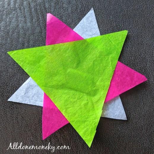 Diversity Craft for Kids: Easy Nine Pointed Stars | Alldonemonkey.com