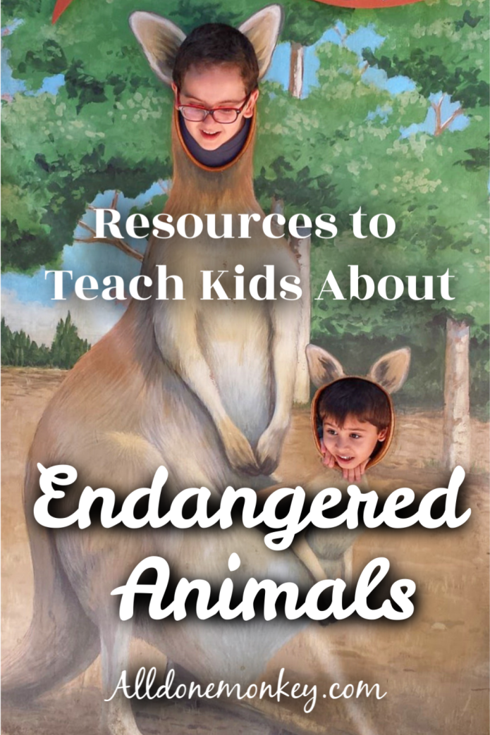 Conservation for Kids: Endangered Animals | Alldonemonkey.com