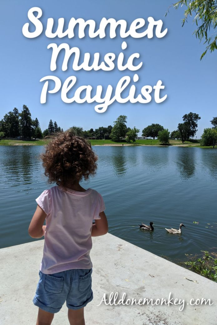 Summer Music Playlist for Families | Alldonemonkey.com