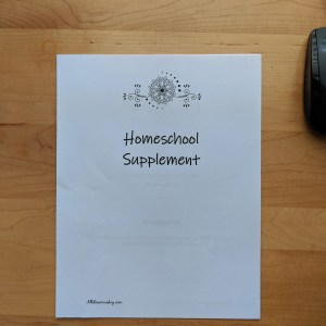 Homeschool Supplement: Coral and Pearls Planner for Baha'i Parents