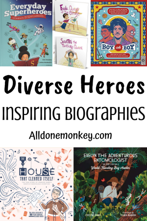 Inspiring Biographies of Diverse Heroes