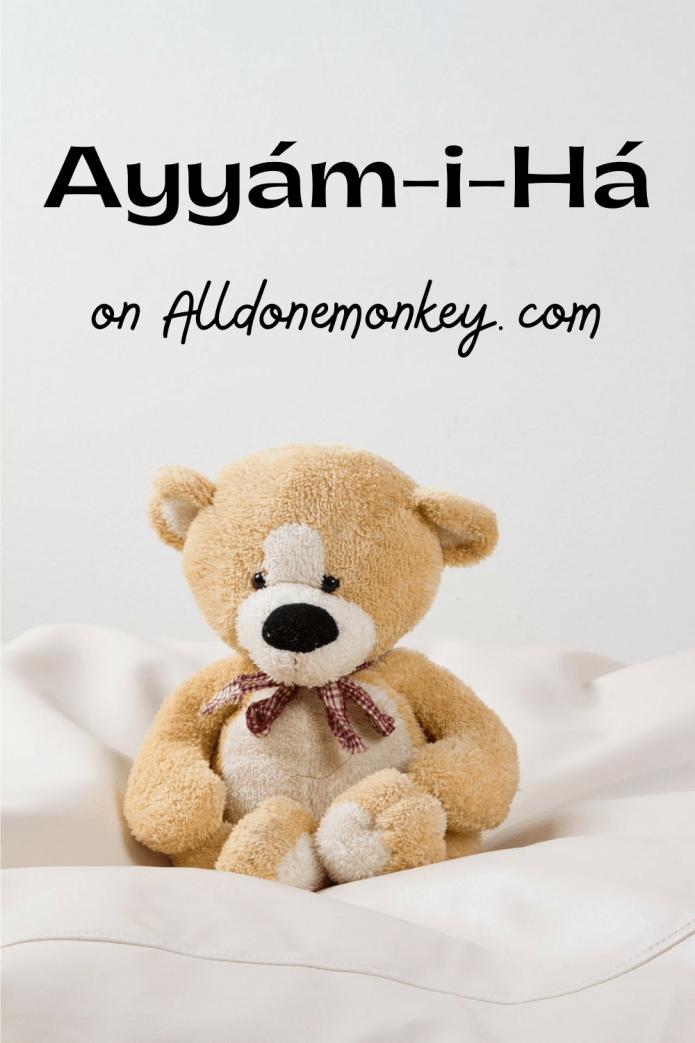 Ayyam-i-Ha Crafts, Activities, and Gift Ideas | Alldonemonkey.com