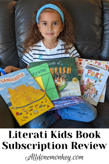 Kids Book Subscription Review: Literati | Alldonemonkey.com