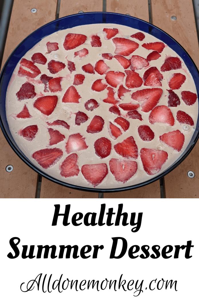 Healthy Summer Dessert: Greek Yogurt Trifle | Alldonemonkey.com