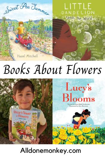 Children's Books About Flowers | Alldonemonkey.com