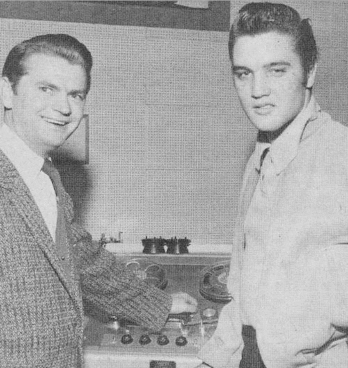 SAm Phillips Elvis Presely