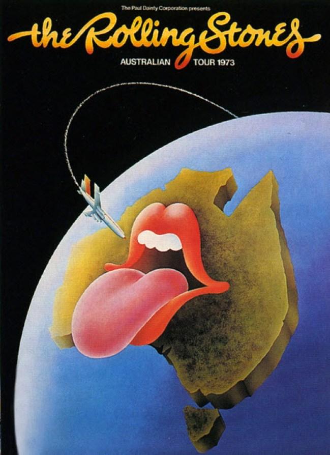 the rolling stones australia 1973