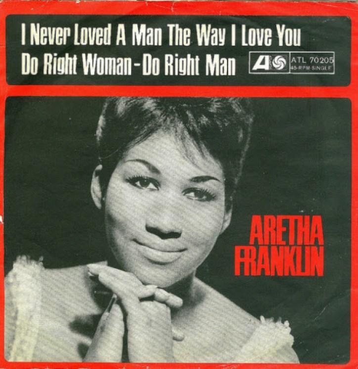 aretha franklin i never loved