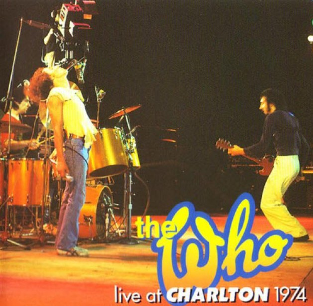 The Who Charlton 1974