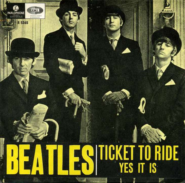 beatles ticket to ride