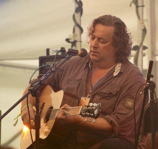 Jackie Leven, 2005, photo: Gareth Owen