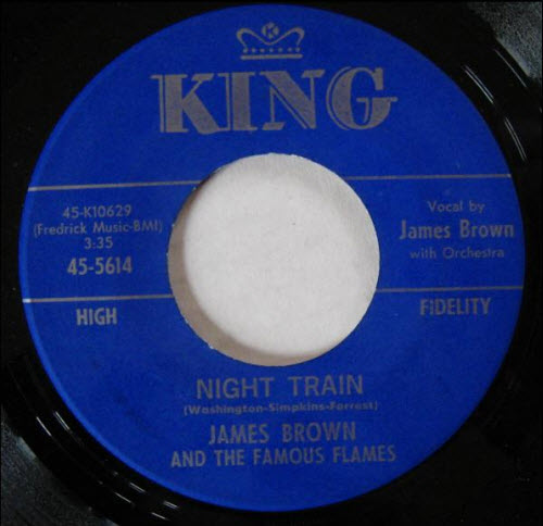 Night Train - Jame Brown