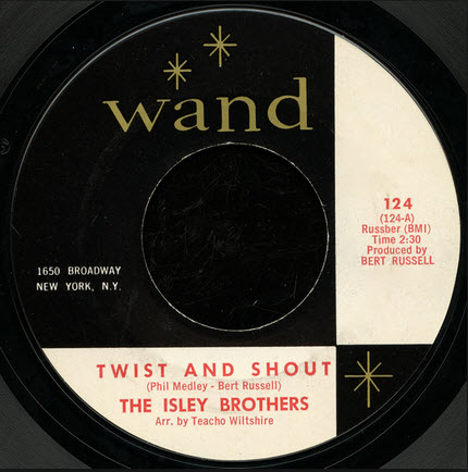 the isley brothers twist and shout