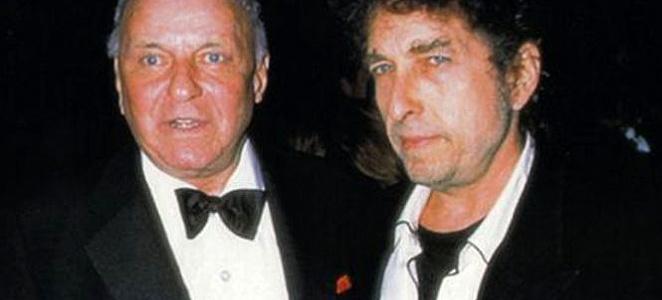 Frank Sinatra-Bob-Dylan