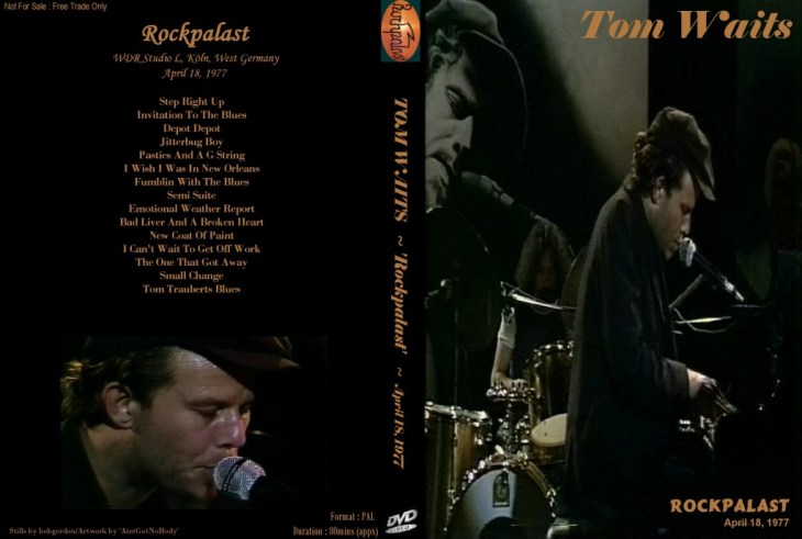 Tom waits rockpalast 1977 classic concert born to listen tom waitsrockpalast1977 stopboris Images