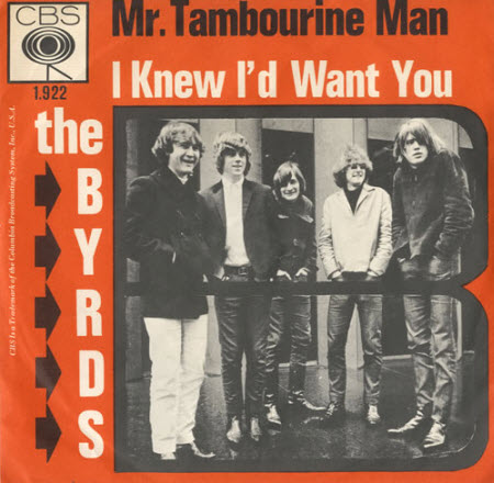 the byrds mr tambourine man