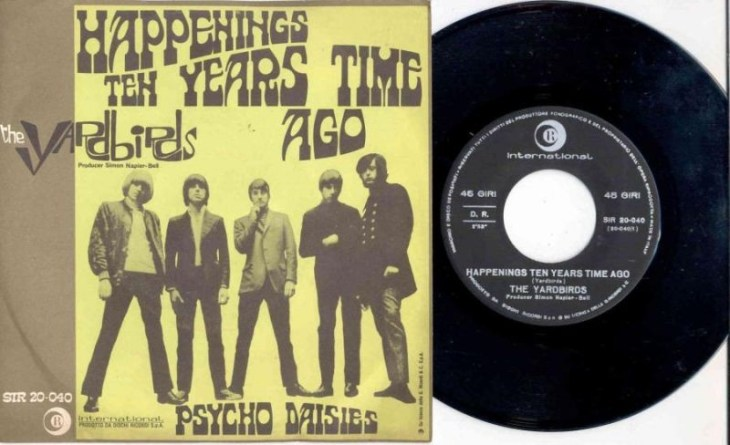Happenings Ten Years Time Ago - The Yardbirds