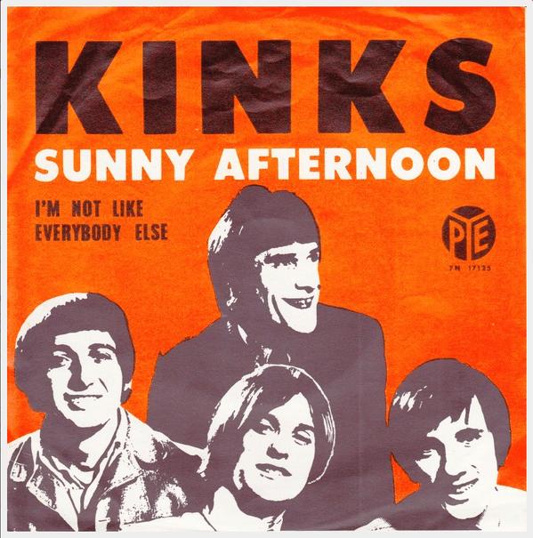 kinks sunny afternoon
