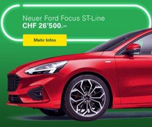 Ford Focus Neuwagen gewinnen