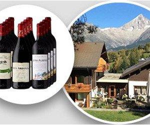Gewinne Wein und ein Wallis-Weekend