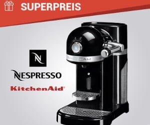 Gewinne eine Nespresso-Maschine