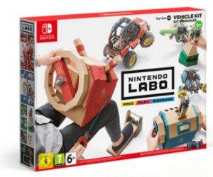 Fahrzeuge von Nintendo Labo gewinnen