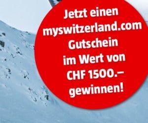 Ferien in der Schweiz gewinnen
