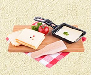 Raclette-Essen für acht Personen gewinnen