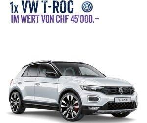 Hauptpreis VW T-Roc gewinnen