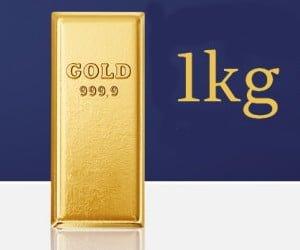 Goldbarren gewinnen